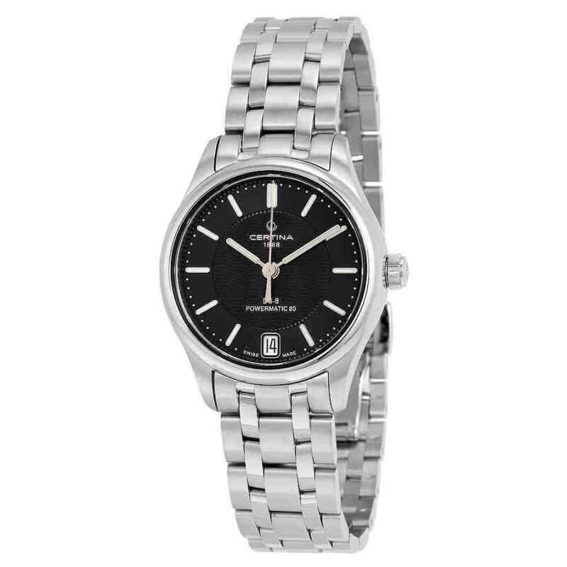 Certina-DS--8-Automatic-Black-Dial-Ladies-Watch-C0332071105100