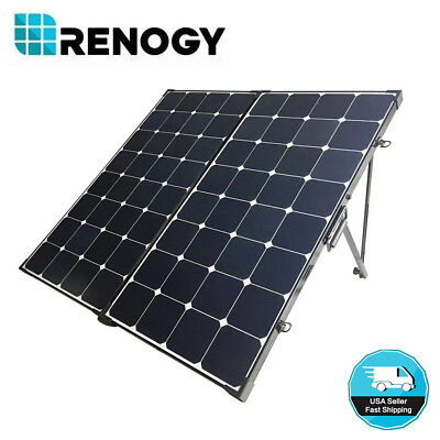 Renogy Eclipse 200W 12V Mono Solar Panel Suitcase NO Control