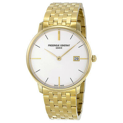 Frederique Constant Yellow Gold-plated Stainless Steel Mens Watch FC-220V5S5B