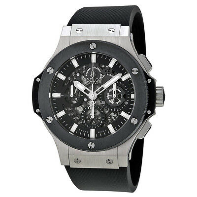 Hublot Mens Big Bang Aero Bang Steel Automatic Swiss Made Watch 311.SM.1170.RX