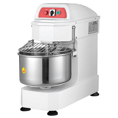 Eurodib Lm20t 20qt Gear Driven Spiral Mixer With Timer
