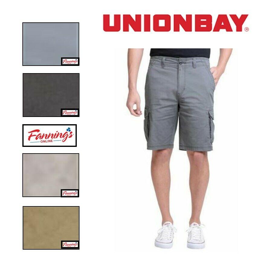 NEW! SALE! Unionbay Men's Medford Lightweight Cotton Cargo S
