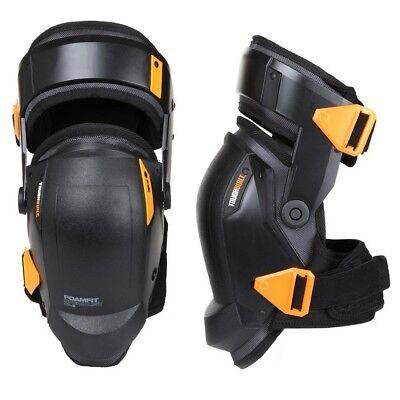 New FOAMFIT Black Thigh Support Stabilization Knee Pads, TOUGHBUILT
