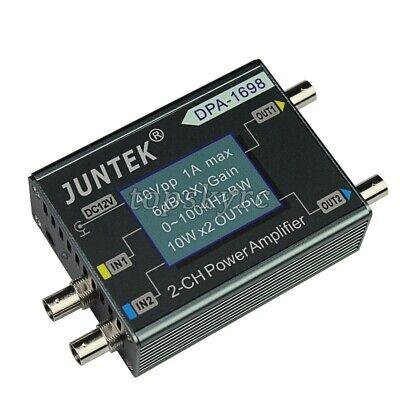 Dpa-1698 Function Generator Amplifier 0-100khz 10w2 For Dds Signal Generator Tp