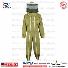 3 layers Ultra Ventilated beekeeping beekeeper Ful Suit Fancy Veil XL