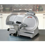 """Commercial Electric Meat Slicer 10"""" Blade 240w 530 rpm Deli Food cutter"""