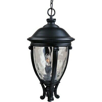 - Maxim Camden VX 3-Light Outdoor Hanging Lantern Black - 41429WGBK