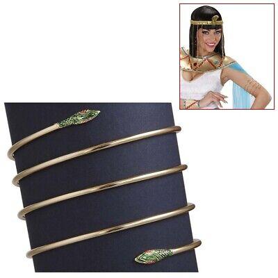 CLEOPATRA SCHLANGEN ARMREIF Armband Kleopatra Ägypter Pharao Kostüm Schmuck - Ägypter Kostüm Cleopatra