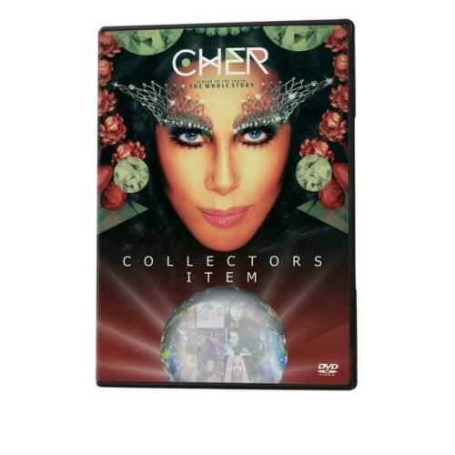 "Cher ""The Whole Truth"" 2 DVDs with Bonus CD ...Collectors Item..Brand New!!"
