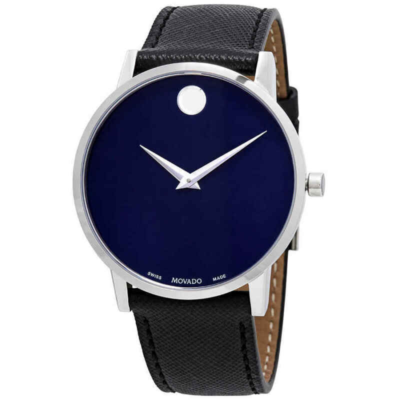 Movado Museum Classic Blue Dial Men Watch 0607197