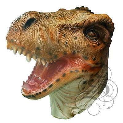 Latex Full Head Tyrannosaurus T-Rex Dinosaurs Reptile Fancy Carnival Party Masks