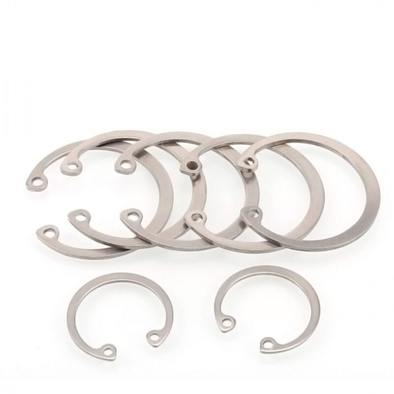 Ф28mm ~ Ф75mm Internal Retaining Ring Circlip Snap Ring A2 304 Stainless Steel
