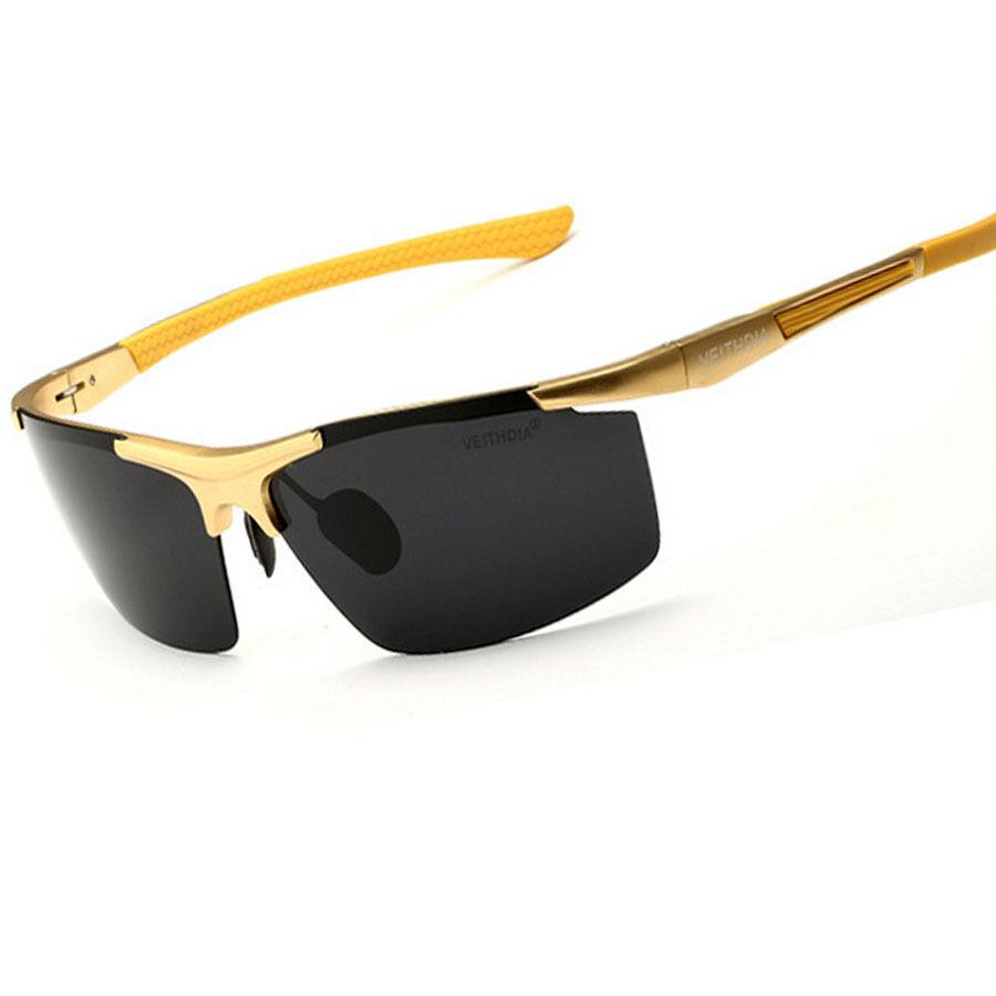 aluminum magnesium polarized sunglasses sport driving
