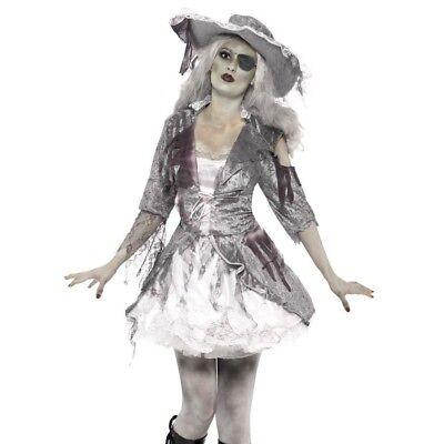 Halloween Fancy Dress Ghost Ship Pirate Treasure Costume by - Ghost Ship Kostüm