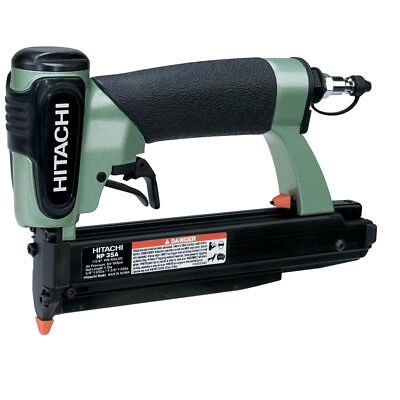 "HITACHI NP35A 1-3/8"" 23 Gauge Roundhead Pin Pneumatic Air Nailer Nail Gun"
