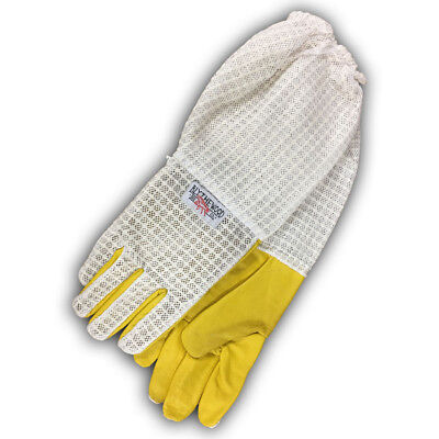 Fully Ventilated Beekeeping Gloves Medium