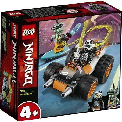 LEGO Ninjago Cole's Speeder Car 71706 BRAND NEW UNOPENED