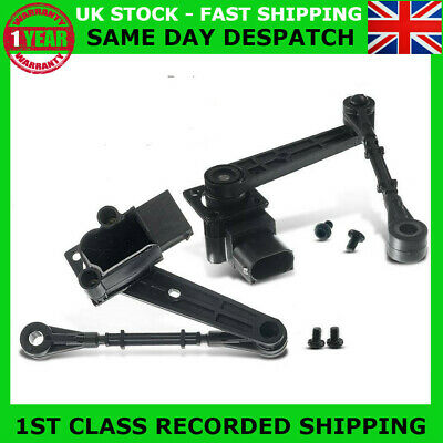 PAIR FIT DISCOVERY 3 &RANGE ROVER SPORT REAR RIGHT &LEFT AIR SUSPENSION SENSOR