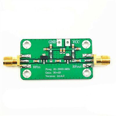 Low Noise Rf Amplifier 20-3000 Mhz Gain 35db