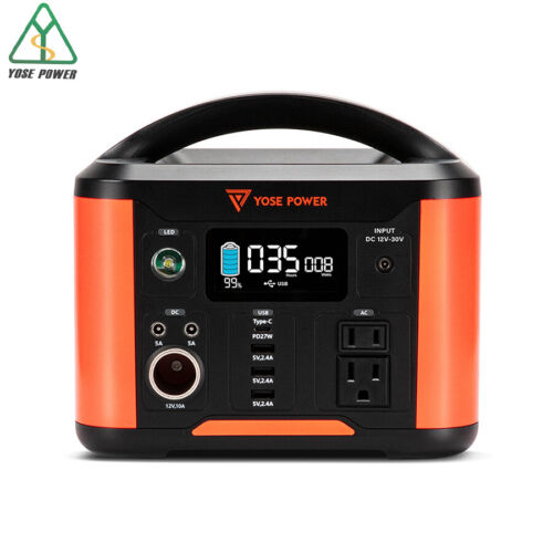 YOSE POWER 300W 80000mAh 288Wh Portable Power Station Solar Battery Generator