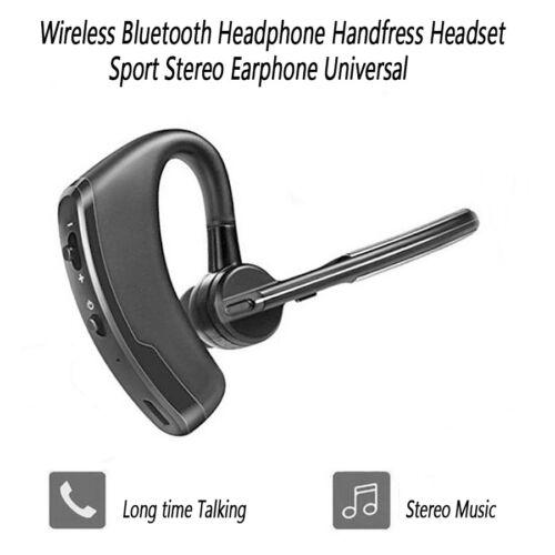 Universal Wireless Bluetooth Headphone Stereo Sport Headset Earphone Handfree US