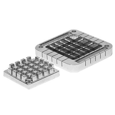 Choice 12 Stainless Steel Blade Assembly And Push Block For French Fry Cutters