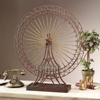 World's Colombian Exposition Big Wheel Metal Ferris Wheel Scaled Replica Decor