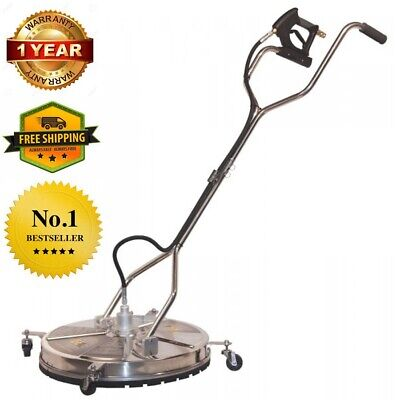 24 In Concrete Stainless Steel Pressure Washer Surface Cleaner Whirl-a-way