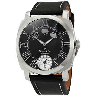 Picasso and Co Atmosphere Black Dial Men's Watch PWATMBKS