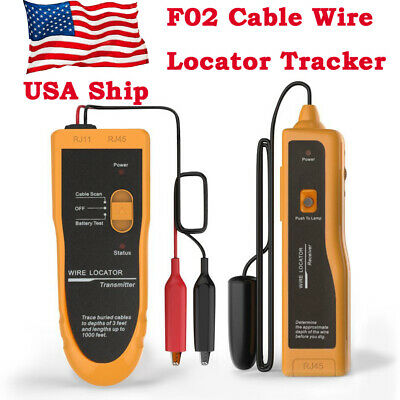 Underground Cable Locatorwire Tracer With Earphonetester For Dog Fence Cables