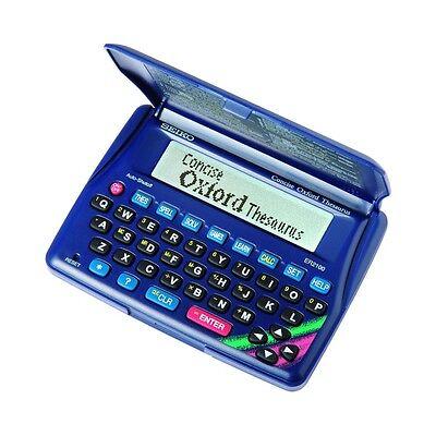 New Seiko Concise Oxford Thesaurus Crossword Educational Toys ER 2100