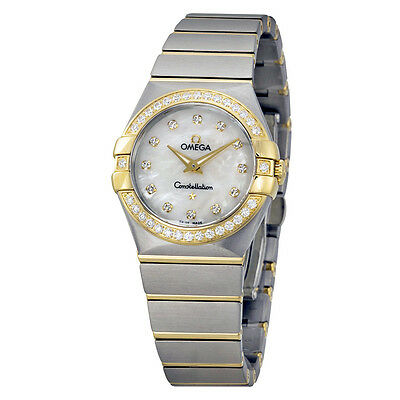 Omega Constellation Mother of Pearl Dial Ladies Watch 123.25.27.60.55.003