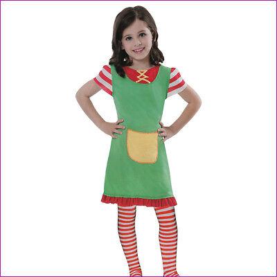 Freche Clown-kostüm (KINDER FRECHE GÖRE KLEID # Karneval Fasching Buntes Mädchen Kostüm Clown 3197)