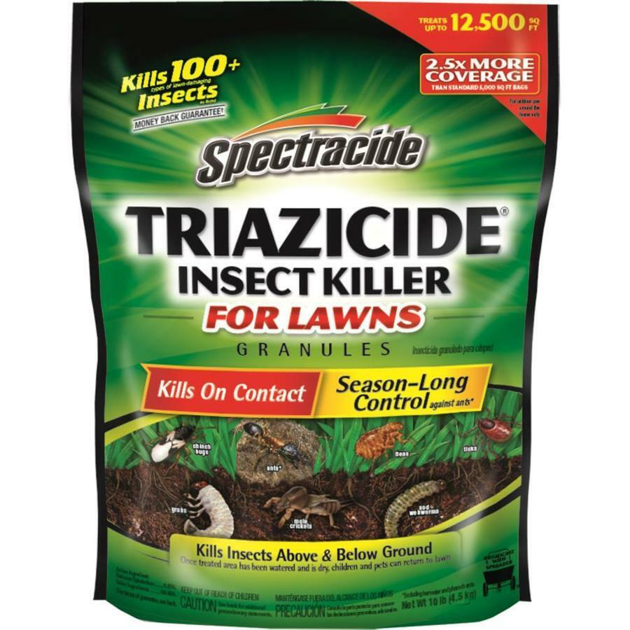 Spectracide Triazicide Insect Killer Granules for Lawns 10-l