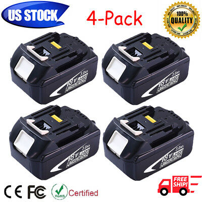 4-Compact For Makita BL1830 18V 18-Volt LXT Lithium-Ion 3.0Ah Battery New Hot sale