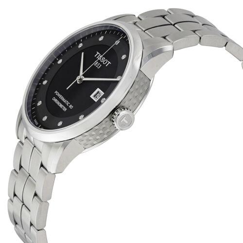Tissot Luxury Automatic Black Dial Mens Watch T086.408.11.056.00