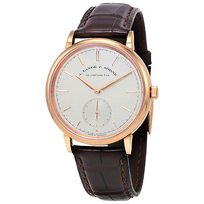 A. Lange and Sohne Saxonia Automatic Silver Dial Mens Watch 380.032