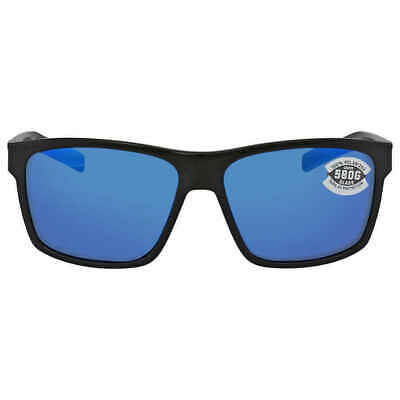 2ca9960b8d Costa Del Mar Slack Tide Blue Mirror Polarized Glass Sunglasses SLT 11  OBMGLP