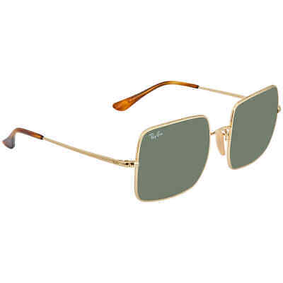 Ray Ban Classic Green G-15 Square Sunglasses RB197191473154 RB197191473154