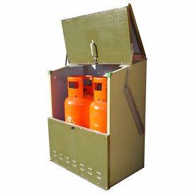 Trimetals Senturion 151319 LPG Cylinder Storage, Metal Shed for two19kg cylinders
