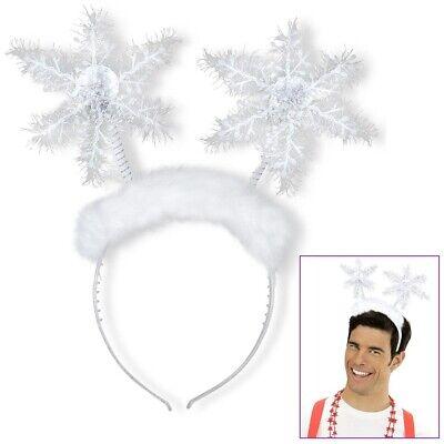 SCHNEEFLOCKEN HAARREIF Karneval Fasching Weihnachten Engel Kostüm Party # 05680