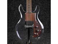 Badcat Lucite Dan Armstrong Ampeg Clear Plexiglass Acrylic Guitar Copy (new)