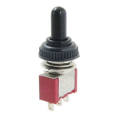 Ac 250v 2a 120v 5a Onoffon Momentary Spdt Toggle Switch W Waterproof Boot T1