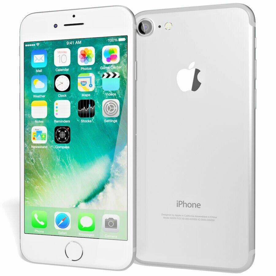 Apple iPhone 7 - 32GB - Silver (Unlocked) A1660 (CDMA + GSM) Smartphone - NEW