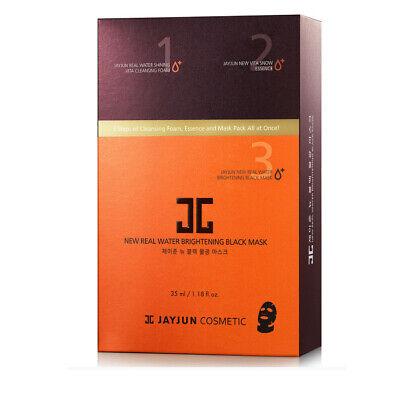 JayJun Real Water Brightening Black Mask Set(3-Step Sheet Mask Set)35ml x 10pcs