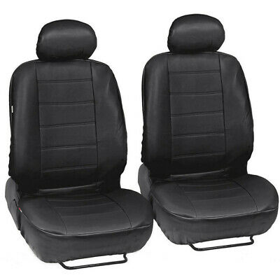 1Set Breathable PU Leather Car Seat Covers Airbag Compatible Fit for All Car SUV