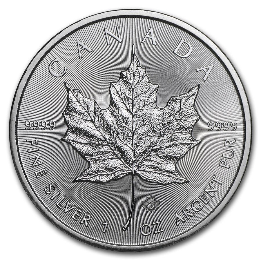 canada 5 dollars argent 1 once maple leaf 2019
