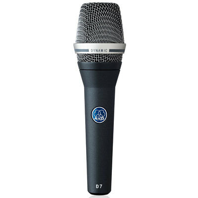 Akg D7 Pro Supercardioid Dynamic Reference Microphone, (Akg Supercardioid Dynamic Mic)