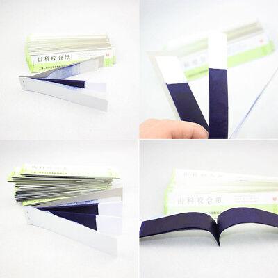 New Dental Articulating Paper Blue Thin Strips 10 Sheetsbook 20 Booksbox