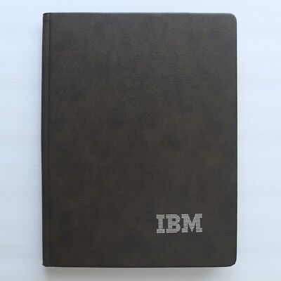 Vintage Ibm Logo Writing Portfolio With New Pad Plus Parker Jotter Penexcellent